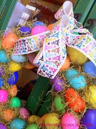 how to make an easter egg wreath how to make an easter egg wreath is coo coo