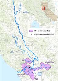 The 606 Map Drought Stressor Monitoring Case Study Russian River Watershed