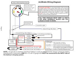 wiring diagram for semi plug and trailer brake wiring diagram 7