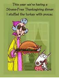 this year we re a stress free thanksgiving dinner l stuffed