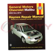 chevy malibu haynes repair manual maxx lt ss ls base ltz classic