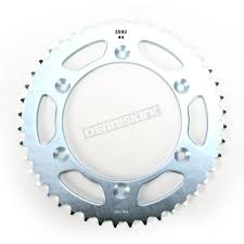 sunstar 44 tooth rear sprocket 2 359244 dirt bike motorcycle
