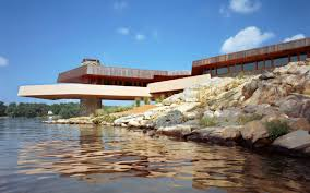 Frank Lloyd Wright Inspired Home Plans Frank Lloyd Wright Inspired Homes On Private Island Back On The