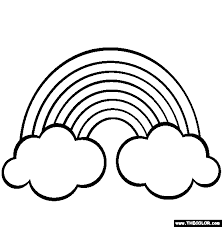 images of coloring pages coloring pages of rainbow tags rainbow coloring page easy