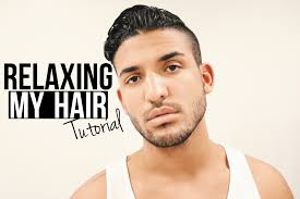 hair relaxer for asian hair relaxing my hair hair tutorial for men demtheceleb youtube