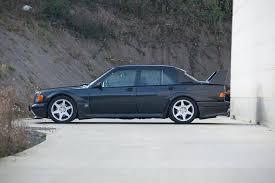 1990 mercedes 190e collectorscarworld com 1990 mercedes 190e 2 5 16 evo 2