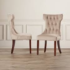 Dining Room Chairs White Arm Chair White Dining Room Chairs Linen Covered Dining Chairs