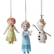 jim shore disney frozen ornament set 60 liked on polyvore