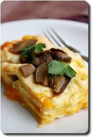 cuisiner des cepes frais lasagne délicate au potiron cèpes et mozzarella savoirs et saveurs