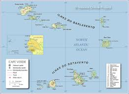 cape verde map world map of cape verde nations project