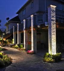 Patio Pillar Lights Pillar Lighting Outdoor Accents Lighting Accent Lighting