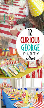 curious george party ideas amazing curious george circus party ideas s party ideas