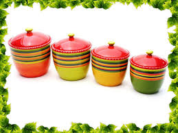 Decorative Canister Sets Kitchen Red Kitchen Canister Sets U2014 Kitchen U0026 Bath Ideas Kitchen