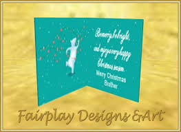 second life marketplace fda be merry greeting card for