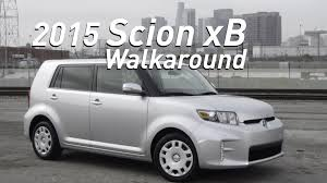 scion xb 2015 scion xb walkaround youtube
