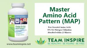 purium master amino acid pattern product master amino acid pattern map