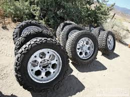 33 12 50 R20 All Terrain Best Customer Choice Tested Street Vs Trail Vs Mud Tires Diesel Power Magazine