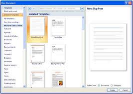templates en word 2007 word 2007