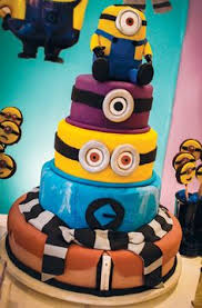minions birthday cake one in a minion birthday party despicable me birthdays and