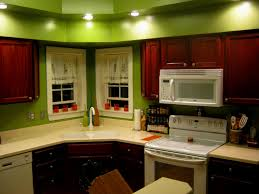 kitchen attractive kitchen colors with dark oak cabinets