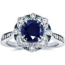vintage sapphire diamond ring lovely art deco vintage sapphire
