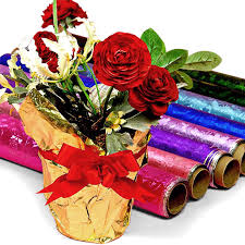 floral foil wrap wrapping paper and floral wraps from paper mart