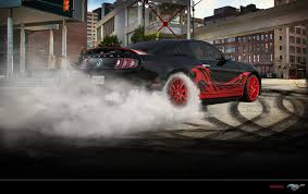 Mustang Red And Black Ford Mustang Shelby Gt500 Black Red By Paho95 On Deviantart