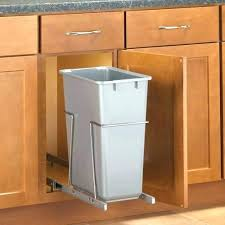 trash cans for kitchen cabinets pull out trash can ikea kitchen cabinet trash bin 8 ways to hide or