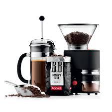 Manual Coffee Grinders Bodum Bistro Burr Grinder In Black Whole Latte Love