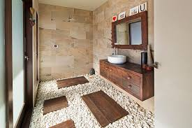 Exquisite And Inspired Bathrooms With Stone Walls - Stone bathroom design