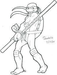 teenage mutant ninja turtles coloring pages april eliolera
