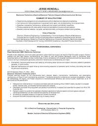 cv for computer engineer automation technician sample resume automation engineer resume