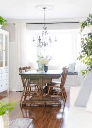 Modern Farmhouse Dining Room Spring Home Tour Our Dining Room A Burst Of Beautiful
