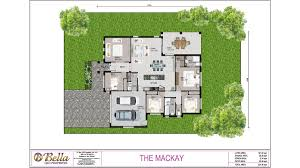 Queensland Home Design Plans The Mackay Bella Qld Properties