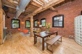 Brick Loft by Somerville Industrial Loft Near Davis Square Big On Brick And
