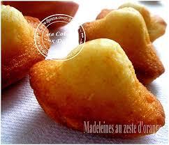 cuisine djouza madeleine moelleuse a l orange recettes faciles recettes