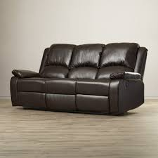 Recliner Sofa On Sale Sofa Recliners You Ll Wayfair