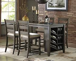 counter height dining table with leaf dining room tables ashley furniture homestore