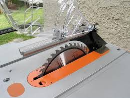Ridgid Table Saw Review Ridgid R4510 Review Portable Table Saw