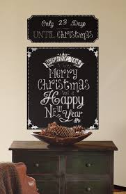 christmas countdown chalkboard wall stickers stickers for wall com christmas countdown chalkboard wall stickers