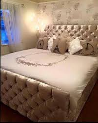 enigma crushed velvet storage ottoman bed berkshire interior