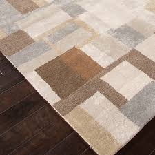 Area Rug Grey by Blue Area Rug Silk Gray Brown Jaipur Rugs Touch Of Modern