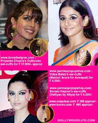 ear cuffs online shopping how to be a hot pataka like priyanka chopra and sonam kapoor
