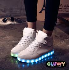 led light up shoes for adults led lighting shoes led via mobile controlled cool mania