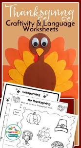 30 best slp thanksgiving themed activities images on