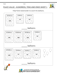 printable math games on place value second grade place value worksheets
