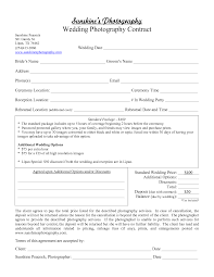 Post Marital Agreement Template Wedding Contract Template
