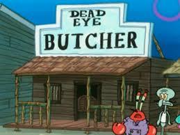 dead eye butcher encyclopedia spongebobia fandom powered by wikia