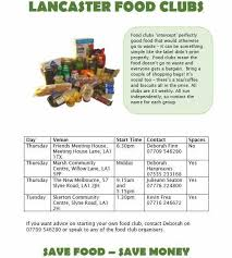 food clubs food clubs lancaster news events community information