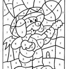 color by number math worksheets kindergarten u2013 math coloring free